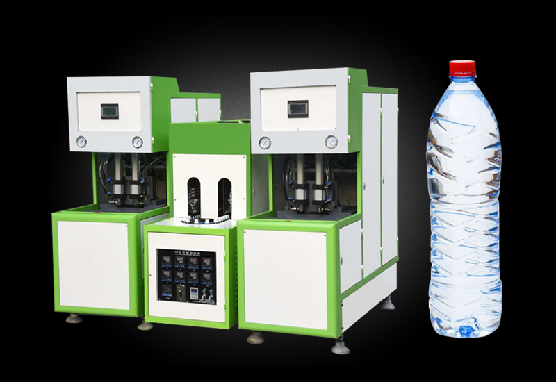 4 cavity semi-automatic bottle blowing machine price
