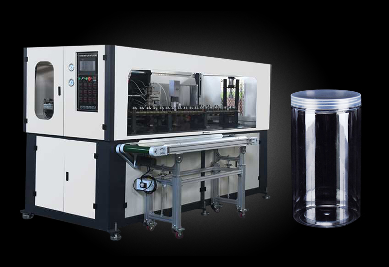 China automatic PET jar making machine