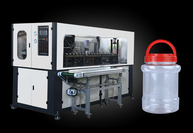 China low price pet stretch blow molding machinefor jerry can