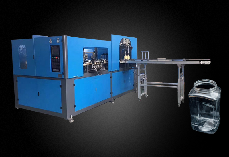 Customized big PET food  can blowing machine made in China