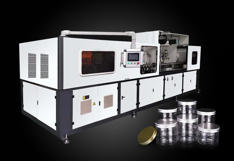 China new high speed automatic 4 cavity PET jar blowing machine products