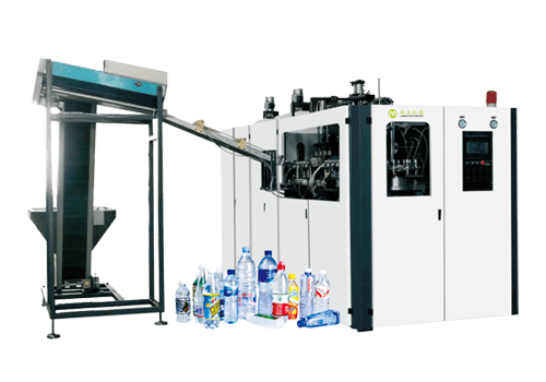 Linear full automatic bottle blowing machine