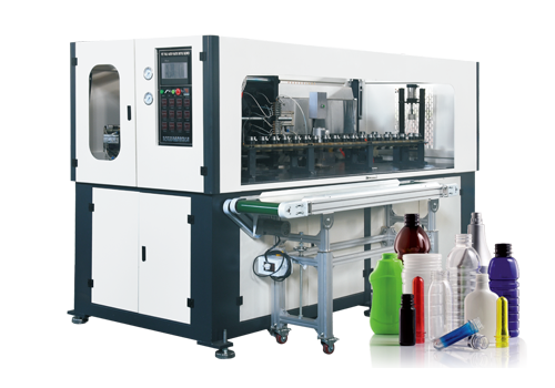 PET Jar full automatic blowing machine connecting with the injection machine directly