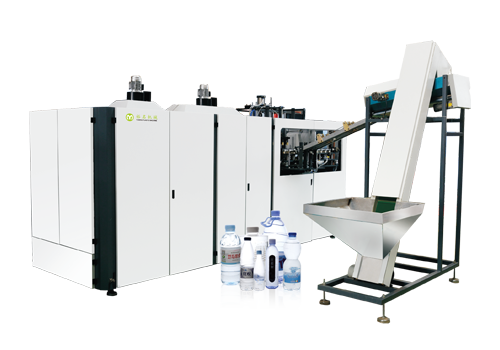 Fully electric high speed automatic blowing machine
