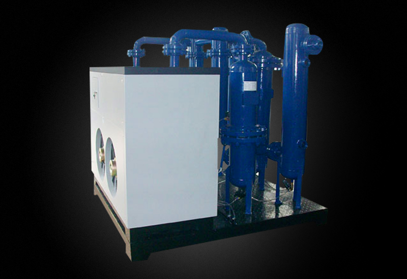 Combinated compressed air dryer