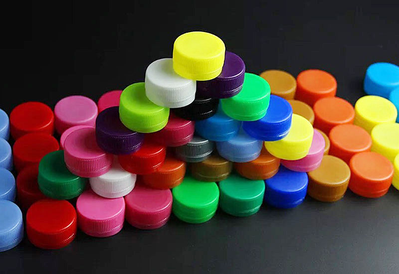 plastic water bottle caps